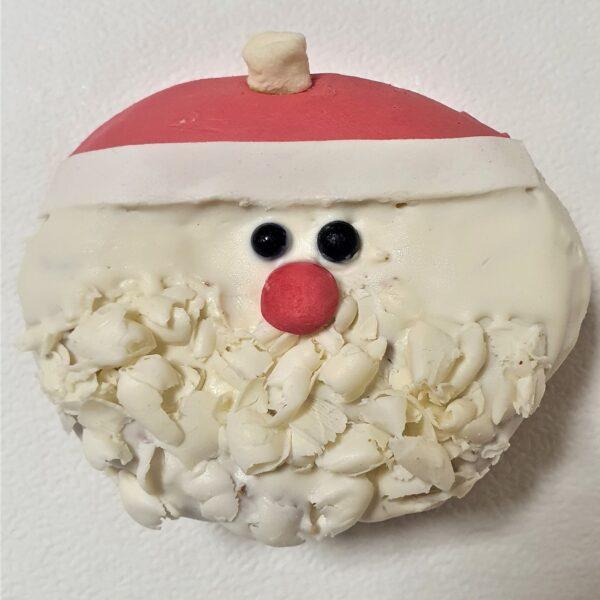 Берлинер пончик дед мороз 1
