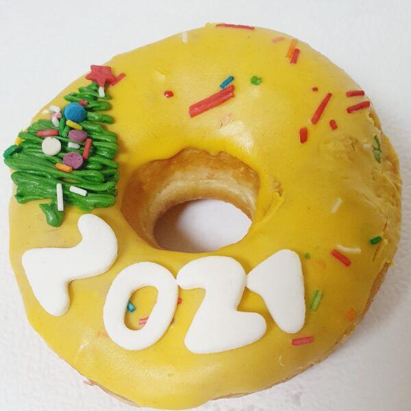 пончик с ёлкой 2021