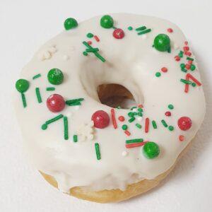 Пончик на рождество